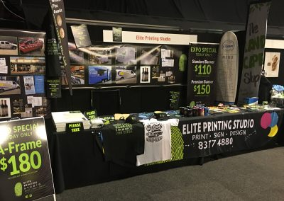 Food expo pic pull-up a-frame signage adelaide2