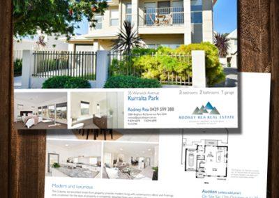 Rod Rea Kurralta Park flyer house sale flyer a4 flyer design print realestate